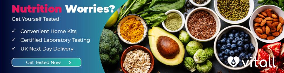 vitamins & minerals full home test kit